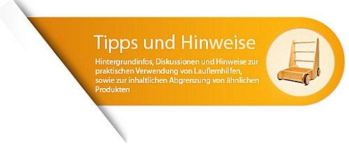 Blog - Tipps, Hinweise und Informationen zu Lauflernwagen